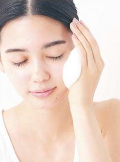 洗顔の仕方