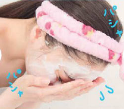 洗顔の仕方7