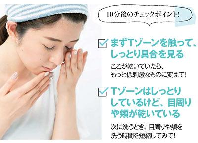 洗顔料選びのポイント