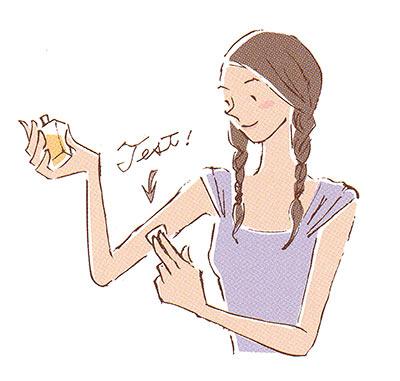 敏感肌 香水のつけ方