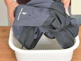 マウテンパーカー洗濯4