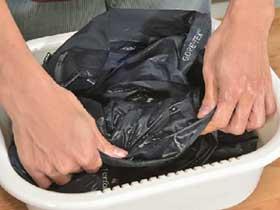 マウテンパーカー洗濯5