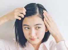 毛先くるん髪型3