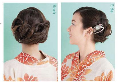 大人 ゆかたヘアスタイル ロング2