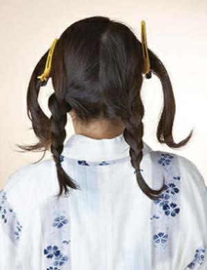 大人 ゆかた髪型 セット3