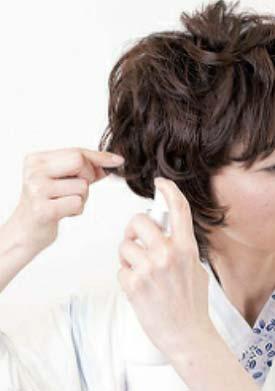 大人ゆかたヘアスタイル ショート セット3