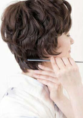 大人ゆかたヘアスタイル ショート セット4