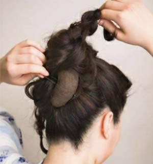 ゆかたヘアスタイル ロング セット8