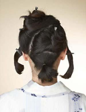 大人ゆかたヘアスタイル ボブ セット