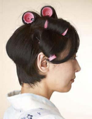 ゆかた髪型 ショート セット