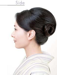ゆかたヘアスタイル ロング2