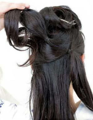 ゆかたヘアスタイル ロング セット