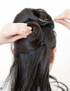 ゆかたヘアスタイル ロング セット2