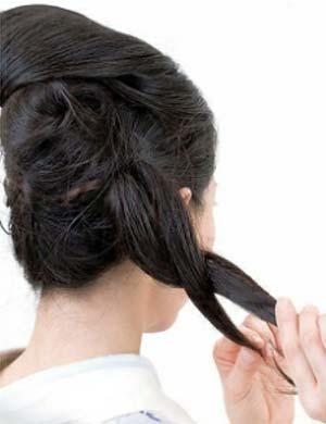 ゆかたヘアスタイル ロング セット4
