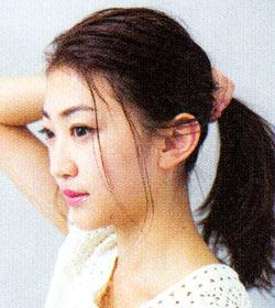 後れ毛の作り方6
