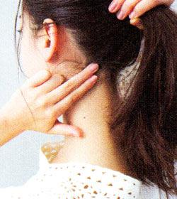 後れ毛の作り方