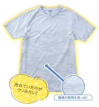Tシャツ 泥汚れ洗濯3