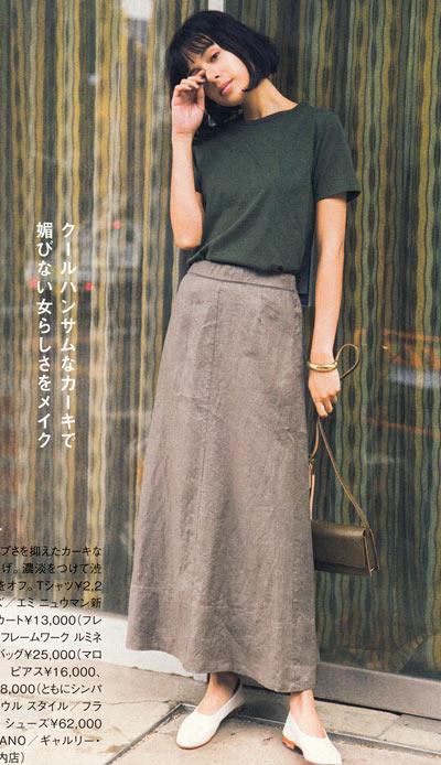 Tシャツ コーデ7