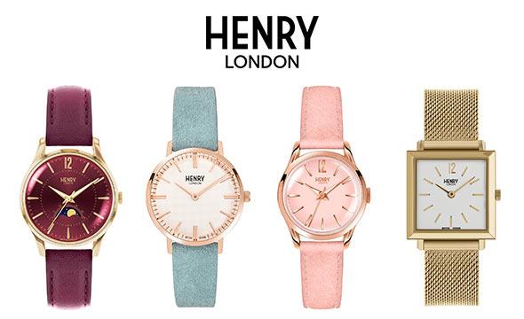 ヘンリーロンドン 腕時計