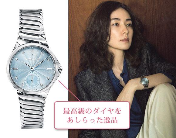 ティファニー メトロ 腕時計