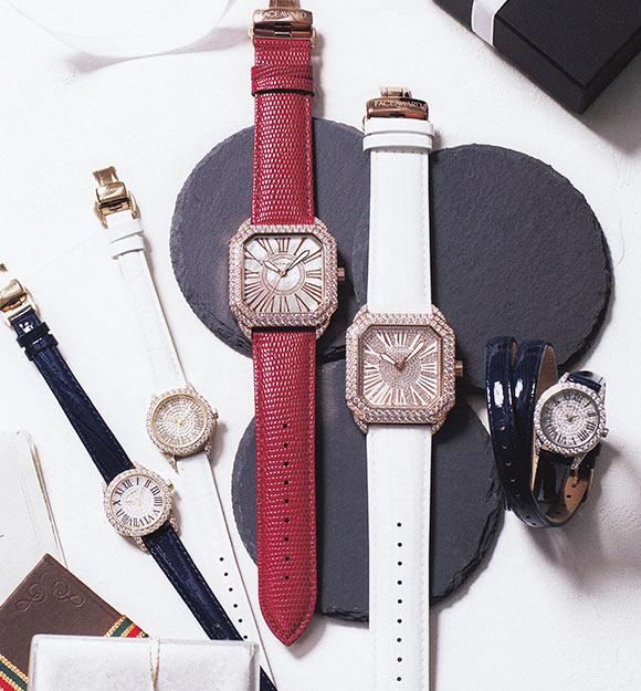 フェイスアワード腕時計
